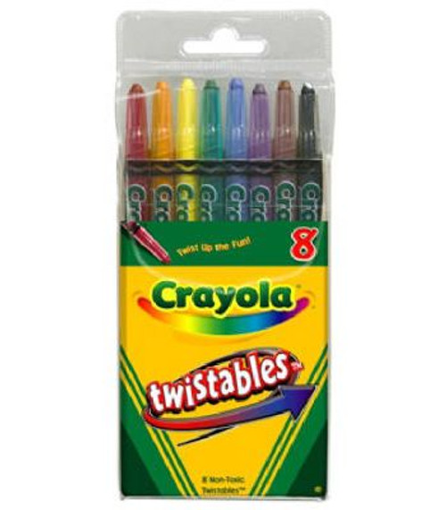 Crayola 8 Count Twistable Crayons