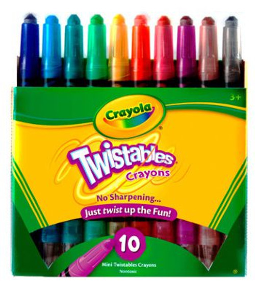 Crayola 10CT Twistable Crayons