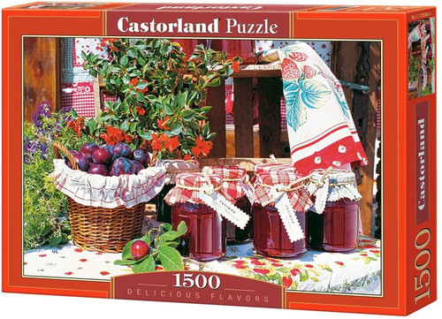 Delicious Flavors 1500 Piece Puzzle