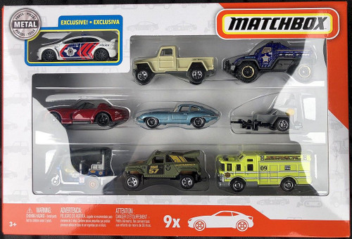 Matchbox 9 Pack of Cars