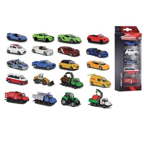 Majorette 5 Pack Cars Asst