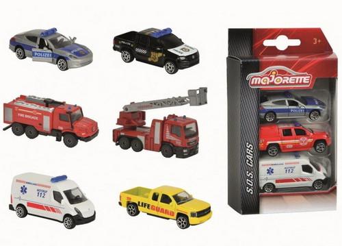 Majorette 3 Pack Cars