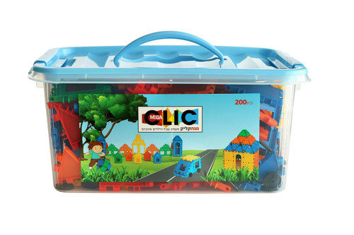 Mega Clic Blocks 200 Piece Set
