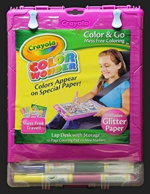 Crayola Color Wonders Lap Desk with Storage