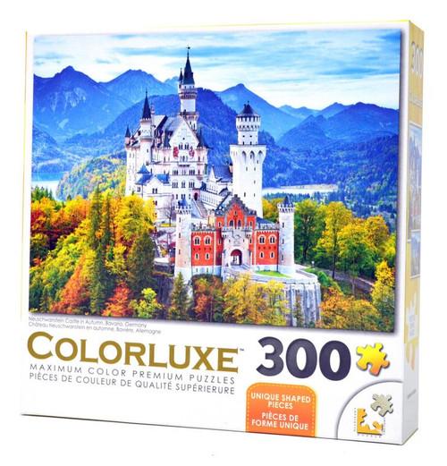 Neuschwanstein Castle In Autumn 300 Piece Jigsaw Puzzle