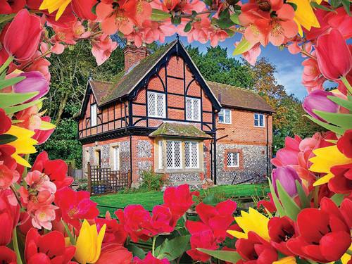 Autumn Cottage 500 Piece Jigsaw Puzzle