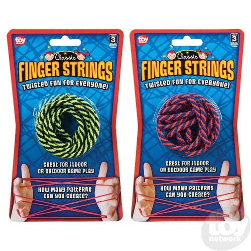 Finger String Game