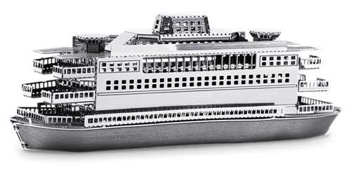 Commuter Ferry 3D Metal Model Kit