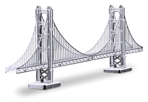Golden Gate Bridge 3D Metal Model Kit
