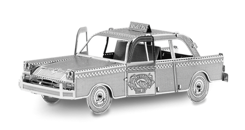 Checker Cab 3D Metal Model Kit