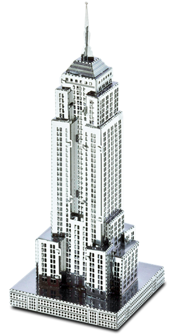 Empire State Building 3D Metal Model Kit