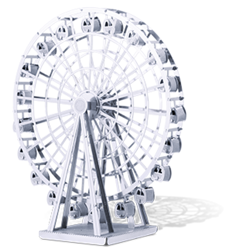 Ferris Wheel 3D Metal Model Kit