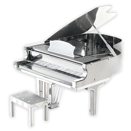 Grand Piano 3D Metal Model Kit