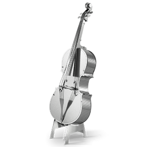 Bass Fiddle 3D Metal Model Kit