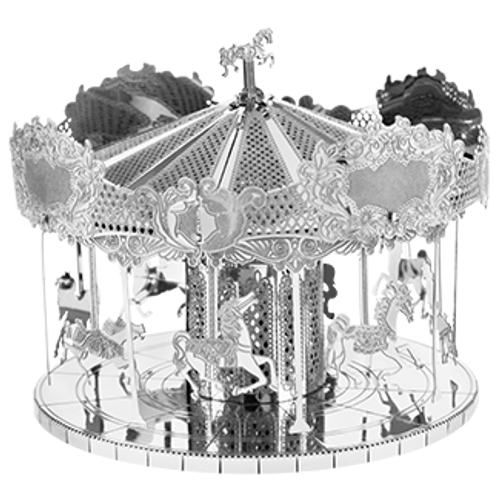 Merry Go Round 3D Metal Model Kit