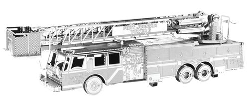 Fire Engine 3D Metal Model Kit