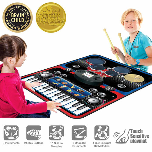 Drum & Piano Combo Play Mat