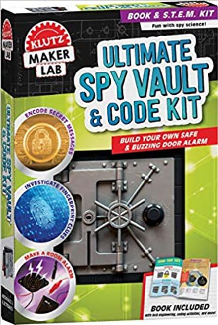 Klutz Lab: Ultimate Spy Vault & Code Kit
