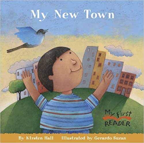 My New Town Hardcover