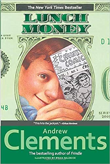 Lunch Money Paperback by Andrew Clementx