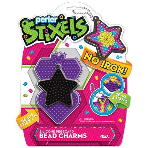 Perler Stixels No Iron Bead Charms Activity Kit
