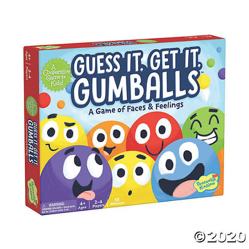 Guess It, Get It, Gumballs Cooperative Game
