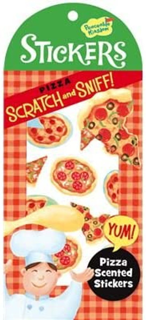 Scratch and Sniff Pizza Sticker Pack