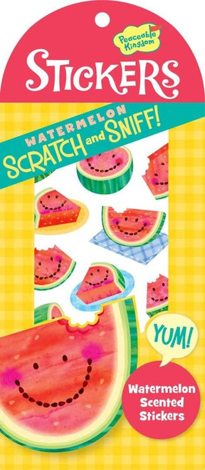 Scratch and Sniff Watermelon Scented Sticker Pack