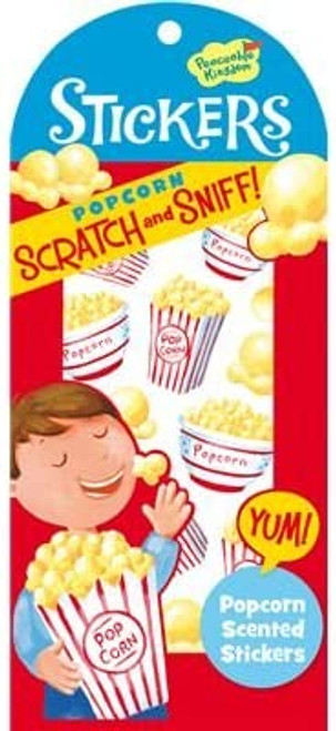 Scratch and Sniff Popcorn Scented Sticker Pack