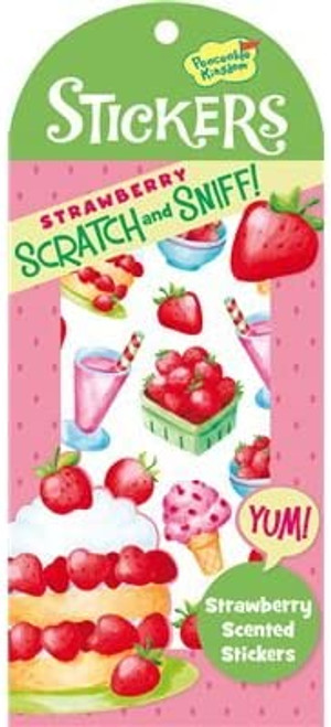 Scratch and Sniff Strawberry Scented Sticker Pack