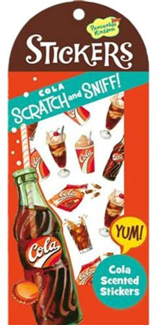 Scratch and Sniff Cola Scented Sticker Pack