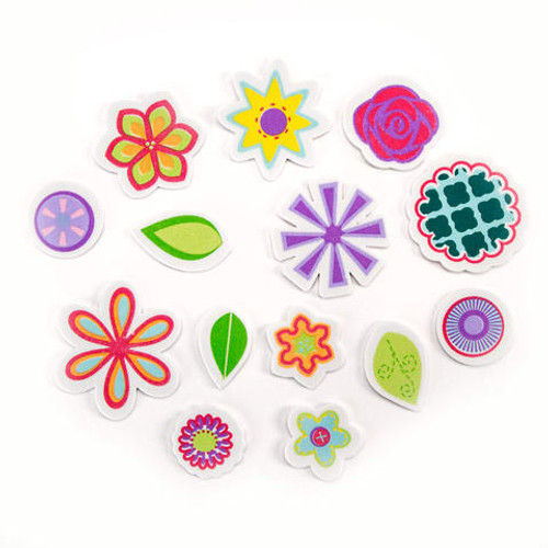 Foamies Flower Stickers