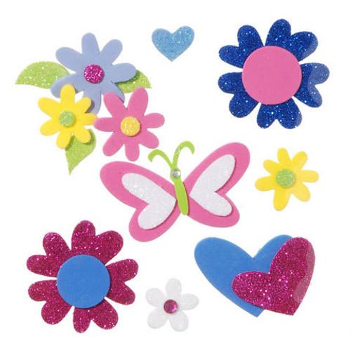 Foam Sticker Flowers