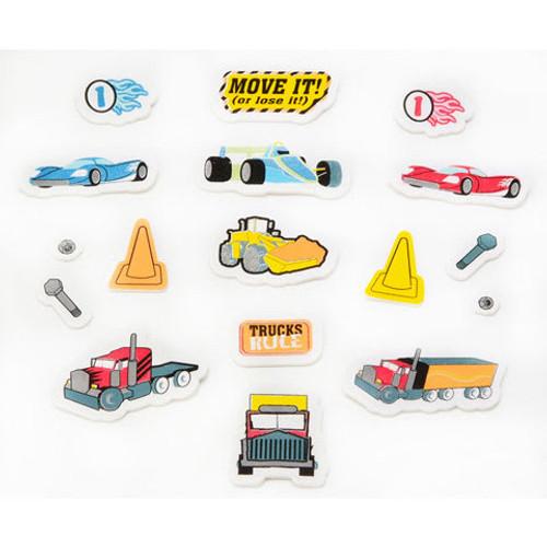 Foam Vehicle Stickers