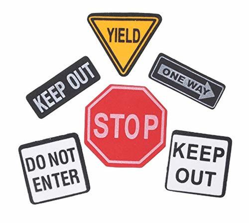 Foam Stickers Traffic Signs