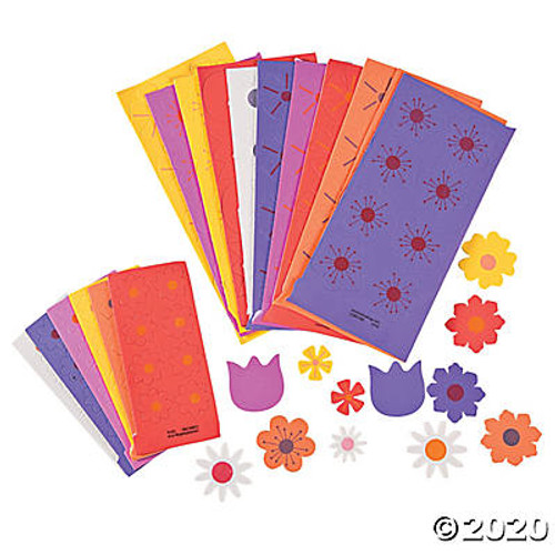 Self-Adhesive Flower Shapes
