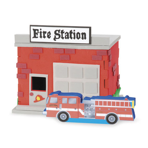 Foam Craft Project Activity Kit Firehouse