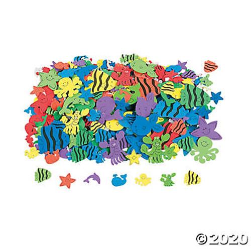 Foam Under the Sea Stickers