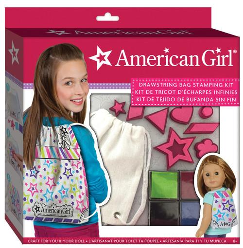 American Girl Drawstring Bag Stamping Kit