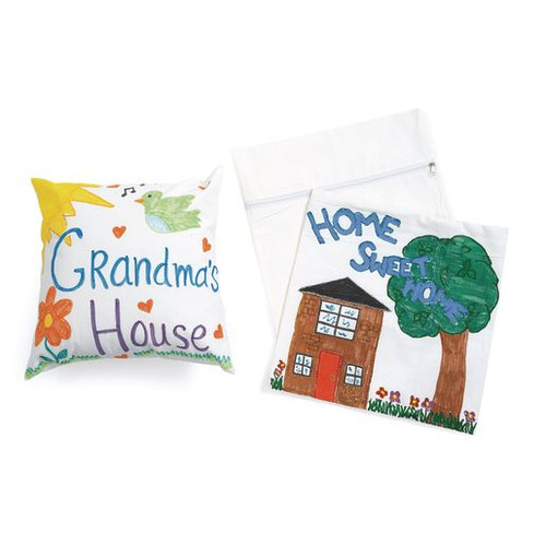 Canvas Pillow Cases - Set of 12
