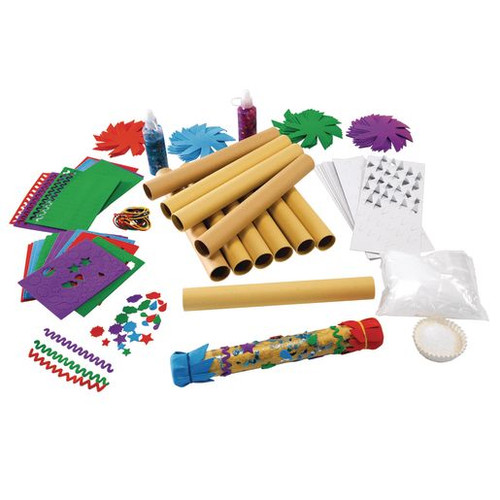 Rainstick Craft Kit for Kids Pack of 12