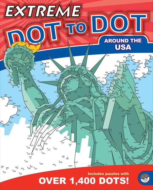 Extreme Dot to Dot Around The USA Book