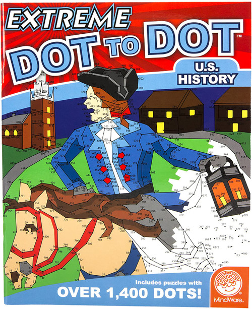 Extreme Dot to Dot  U.S. History Game Book