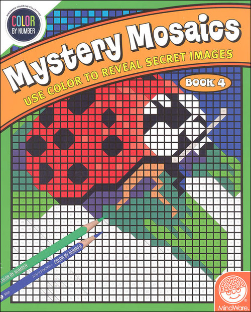 Color By Number Mystery Mosaics Book 4