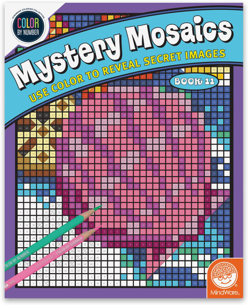 Color by Number Mystery Mosaics Book 11