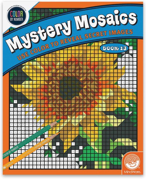 Color by Number Mystery Mosaics Book 13
