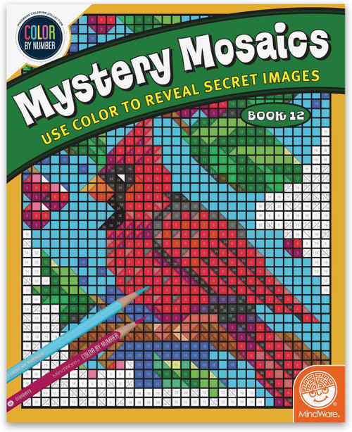 Color by Number Mystery Mosaics Book 12
