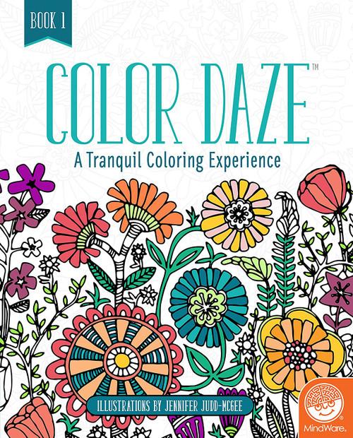 Color Daze Adult Coloring Book Book 1