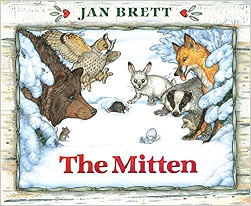 The Mitten Hardcover Edition