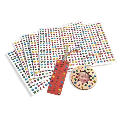 3-D Gem Stickers - 2,150 Pieces